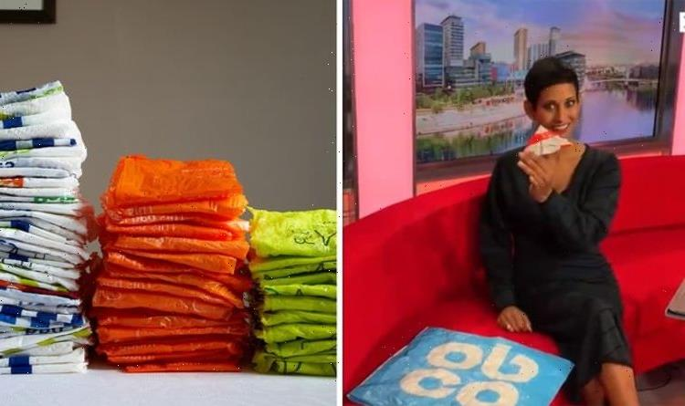 Naga Munchetty shares space-saving tip to store plastic bags as charge doubles to 10p