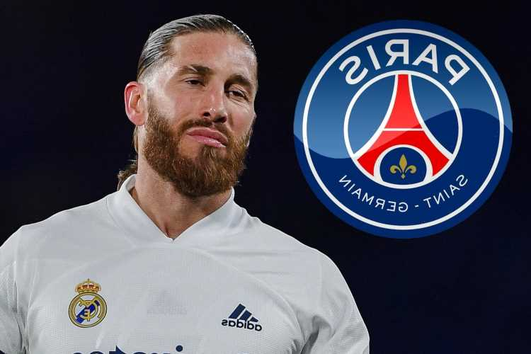 PSG join Sergio Ramos transfer race with defender set to quit Real Madrid this summer but hasn't given up on new deal