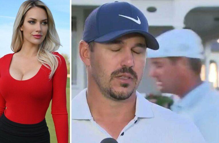 Paige Spiranac 'would pay an unlimited amount' to watch Brooks Koepka vs Bryson DeChambeau after golf stars' feud