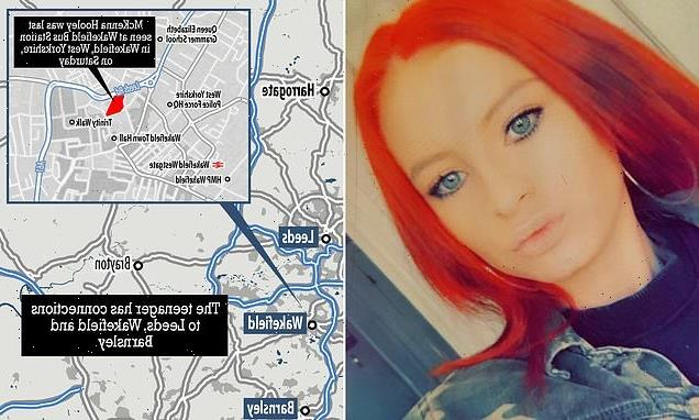 Police step up hunt for missing teenage girl with distinctive red hair