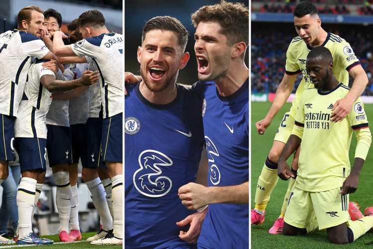 Premier League permutations: How Arsenal can reach Europa Conference League ahead of Tottenham on final day of season