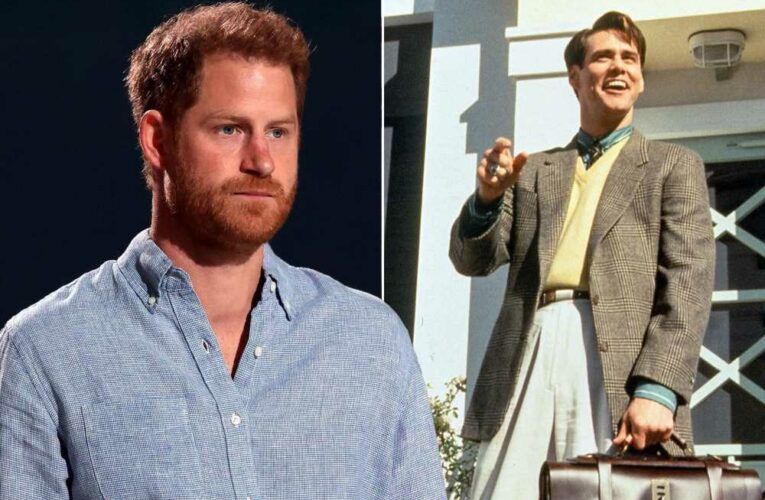 Prince Harry compares his life to 'The Truman Show'