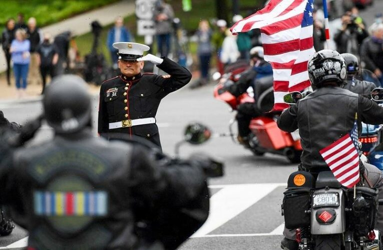 Rolling to Remember honors veterans, fallen troops after Pentagon snub