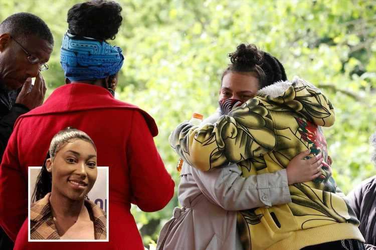 Sasha Johnson vigil: Pals gather at park in show of support for BLM activist after she was shot in the head in 'driveby'