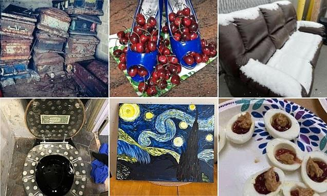 Social media users reveal weirdest items they've seen for sale online