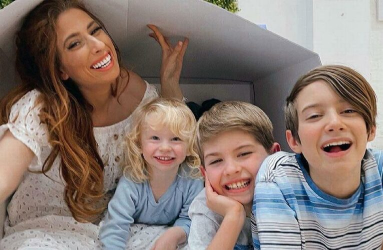 Stacey Solomon pays emotional tribute to son Leighton as he turns nine and reflects on being judged as a young mum