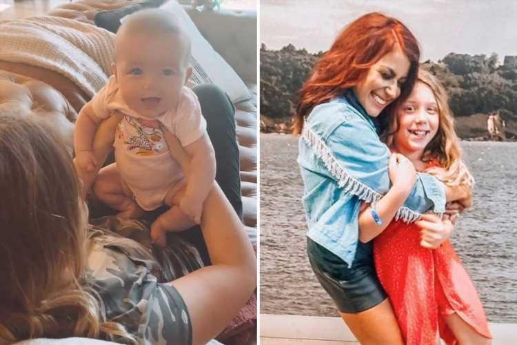 Teen Mom Chelsea Houska shares rare video of daughter Aubree, 11, playing with her baby sister Walker, 3 months