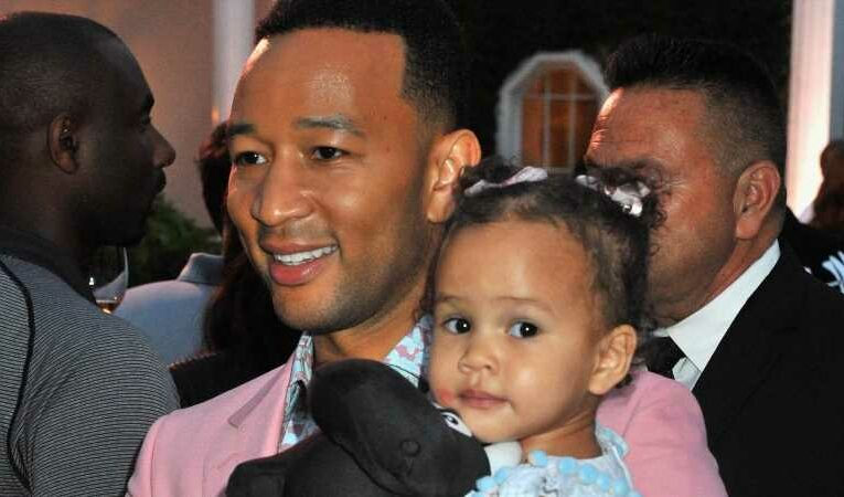 The Heartwarming Way John Legend Is Teaching His Daughter Body Positivity