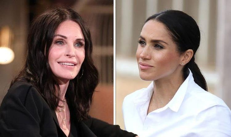 'There's no way!' Courtney Cox says she could never follow in Meghan Markle's footsteps