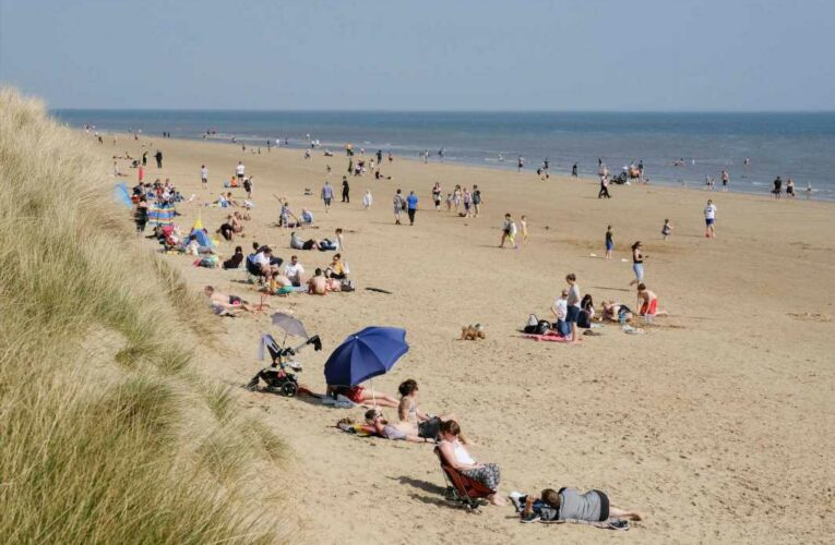 Three men stabbed in 'axe and samurai sword' fight on Formby Beach just yards from Millionaire's Row