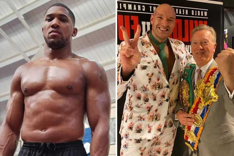 Tyson Fury FINALLY gets Saudi Arabia site contract for Anthony Joshua fight as Frank Warren reveals deal is nearing