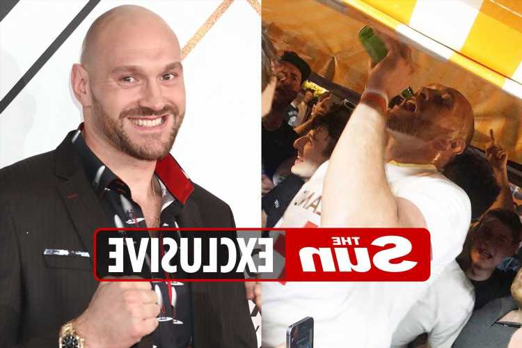 Tyson Fury quits booze for good after admitting drinking up to 12 pints a DAY