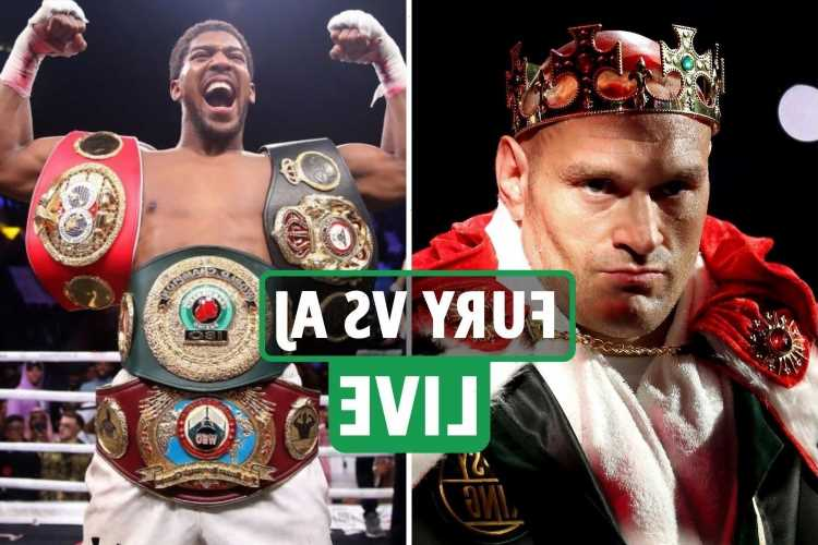 Tyson Fury vs Anthony Joshua LIVE updates: Gypsy King 'to face Wilder on July 24' as AJ set to fight Usyk – latest
