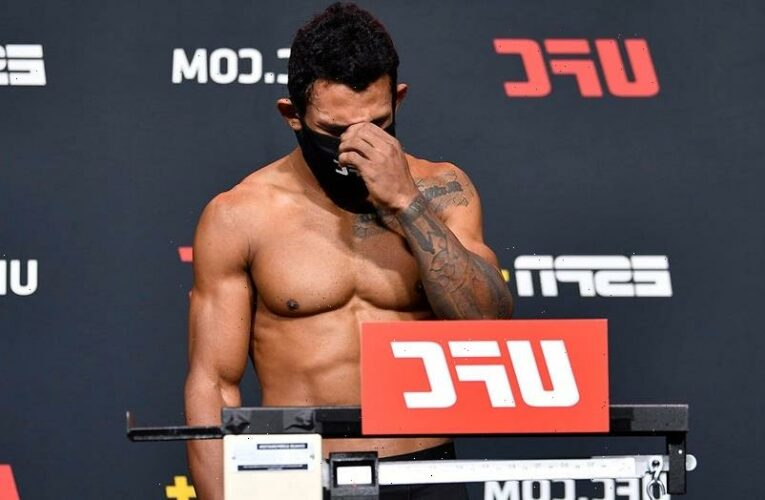 UFC's Rafael Alves reveals heartbreaking reason for missing weight before February fight