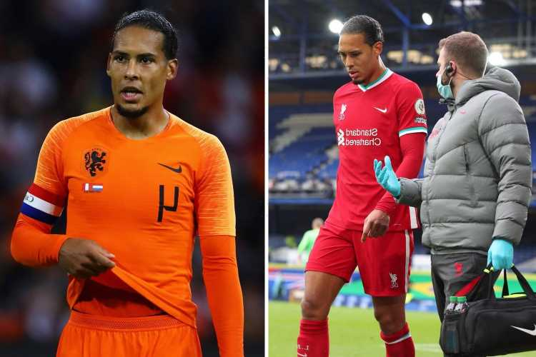 Van Dijk rules himself OUT of Holland's Euro 2020 squad to focus on recovering from injury and Liverpool pre-season