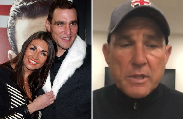 Vinnie Jones says he fights off 'weight of grief' every day as he reflects on 'brutal' lockdown after wife's death