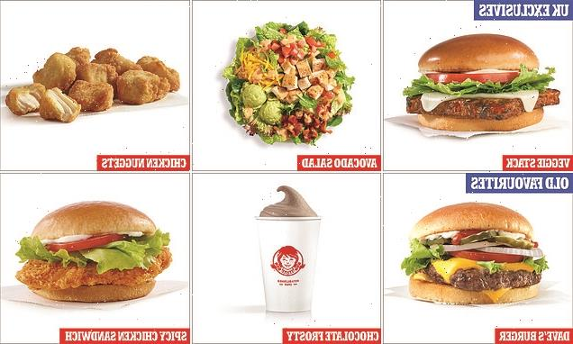 Wendy's reveals it's full UK menu as first branch opens in Reading