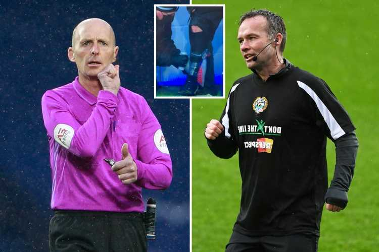 West Brom vs Wolves sees ref swap as Mike Dean replaces Paul Tierney at half-time after calf injury