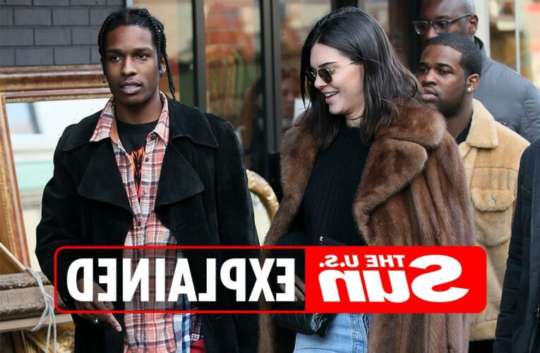 When did ASAP Rocky and Kendall Jenner date?