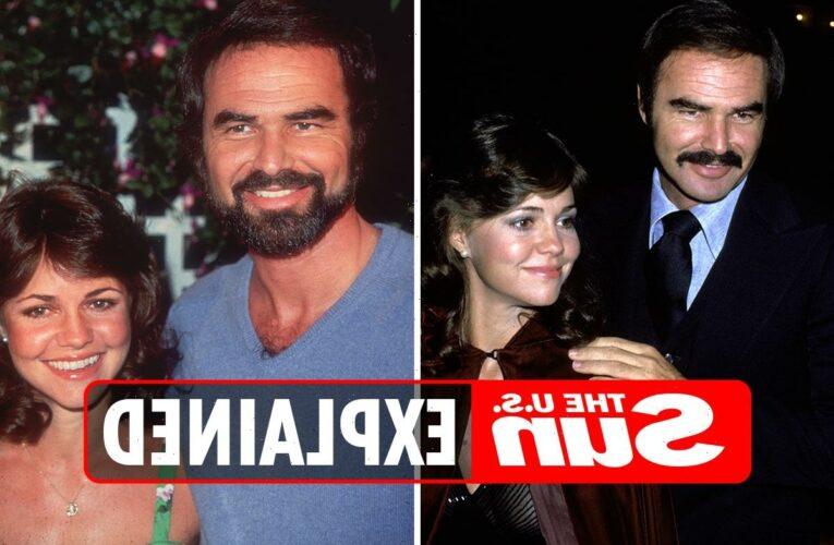 When did Sally Field and Burt Reynolds date?