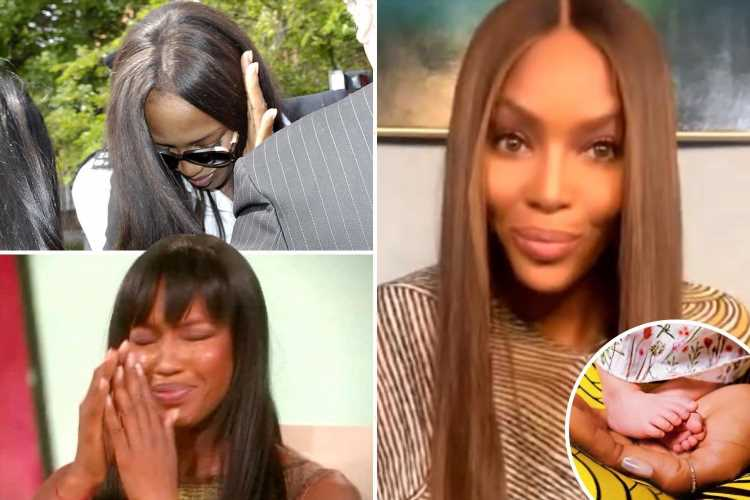 Why Naomi Campbell waited until she was 50 to have a baby with secret boyfriend after wild party years