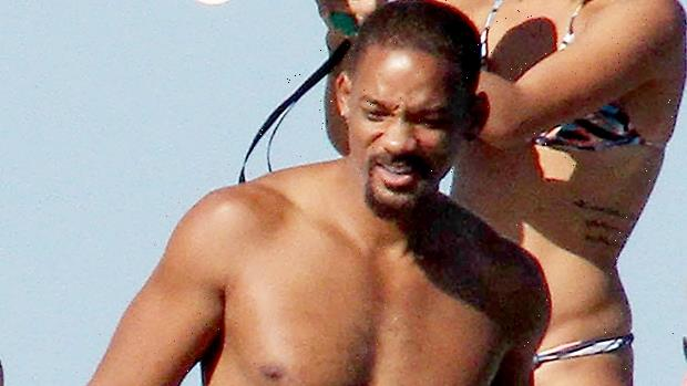 Will Smith, 52, Wears Tiny Shorts & Goes Shirtless In New Pic: 'I'm In The Worst Shape Of My Life'