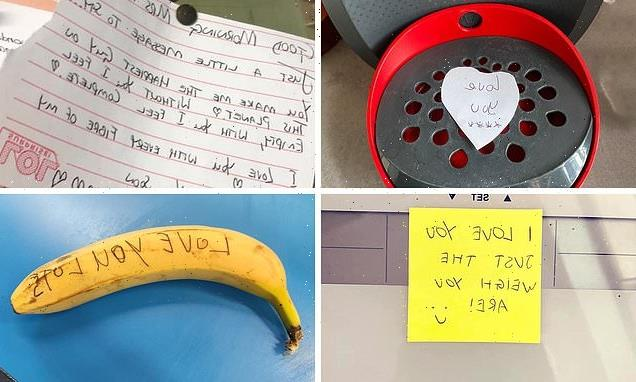 Women share photos of the sweet gestures and notes left for them