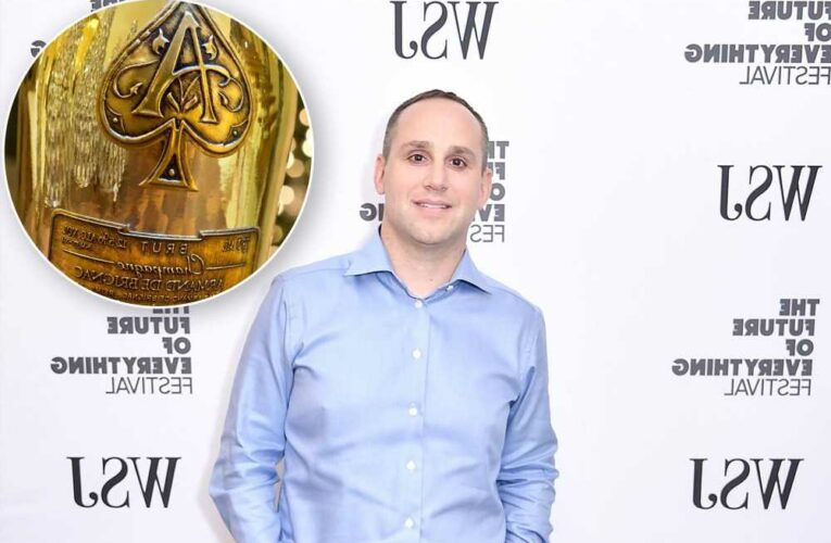 76ers partner Michael Rubin sends Ace of Spades bubbly as party invites
