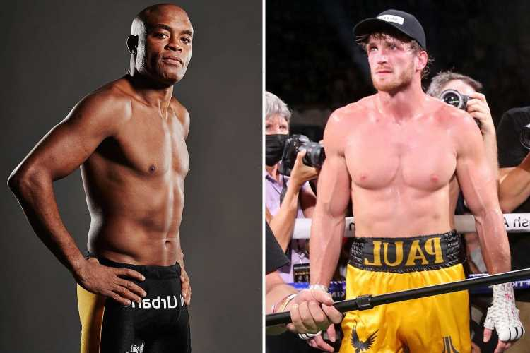 Anderson Silva targets Logan Paul in his 'next fight' after UFC legend beats ex-boxing champion Julio Cesar Chavez Jr