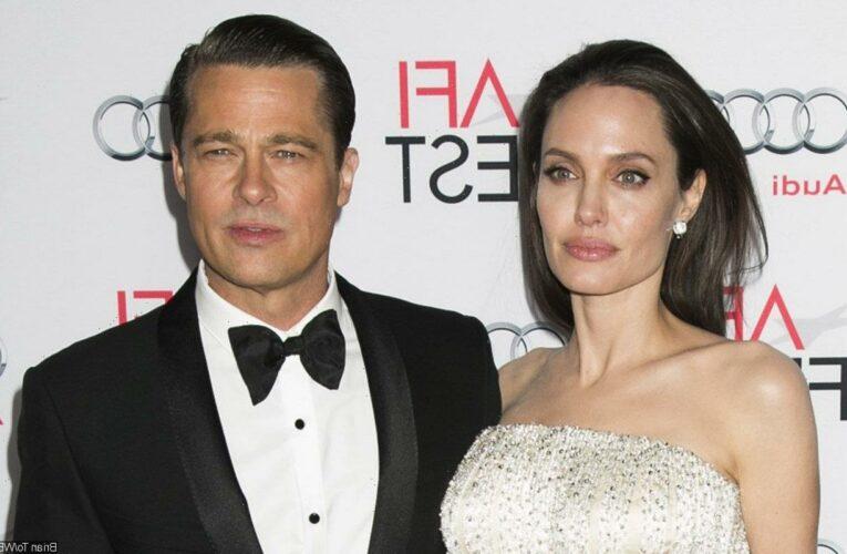 Angelina Jolie Flaunts Cryptic New Tattoo Amid Custody Battle With Brad Pitt