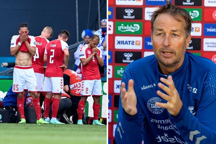 Angry Denmark boss rages at Uefa 'Covid allows postponement but cardiac arrest doesn't' after Christian Eriksen collapse