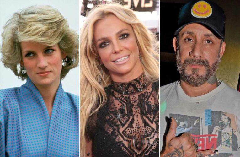 Backstreet Boy AJ McLean compares Britney Spears to Princess Diana