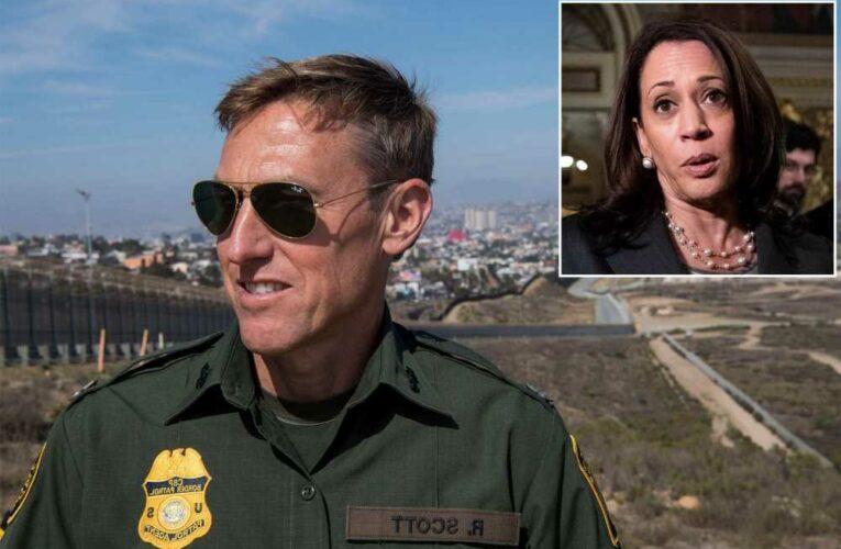 Biden Border Patrol chief booted as VP Harris announces trip to border
