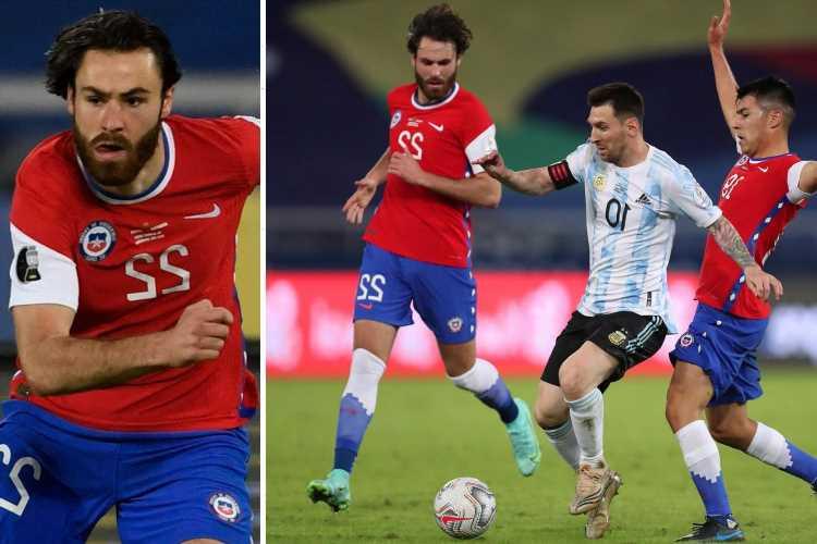 Blackburn striker Ben Brereton, born in Stoke, makes shock CHILE debut against Messi's Argentina after shock call-up