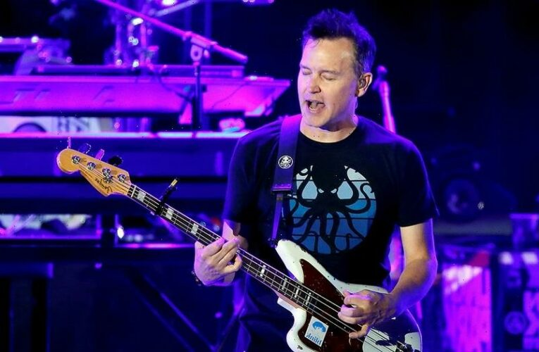 Blink 182's Mark Hoppus gives fans an update on his cancer treatment