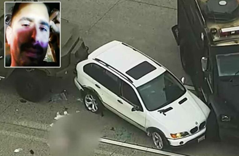 California man livestreams his suicide after abusing girlfriend, police chase