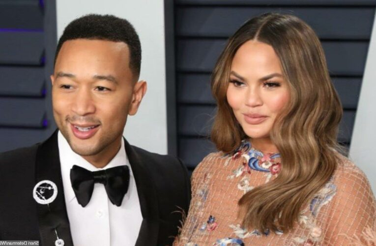 Chrissy Teigen Admits to Being 'Fresh Out of' Tears in Father's Day Tribute to John Legend