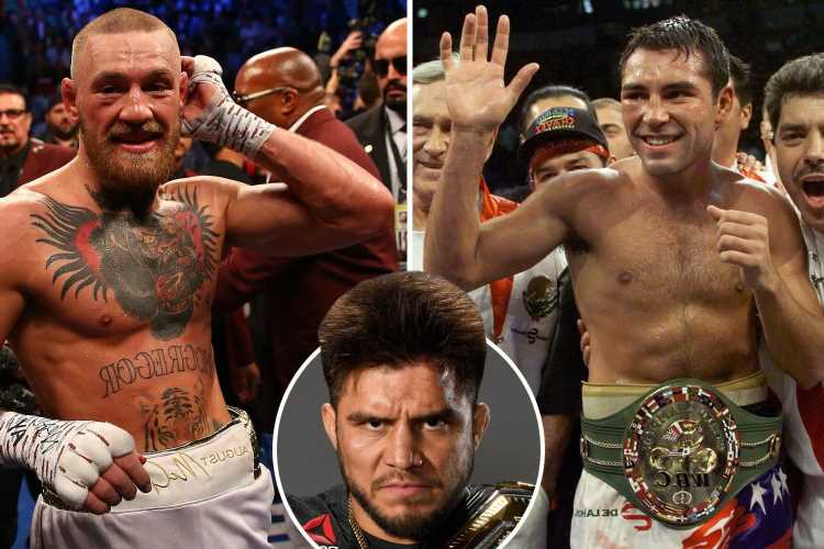 Conor McGregor 'wouldn't last a minute' with 'killer' Oscar De La Hoya in boxing ring, says ex-UFC champ Henry Cejudo