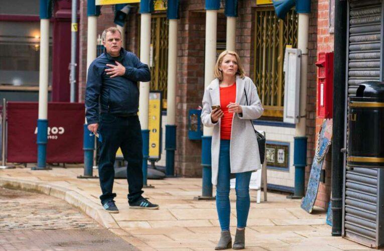 Coronation Street spoilers: Nick Tilsley tells Natasha to leave Weatherfield and take Sam to London