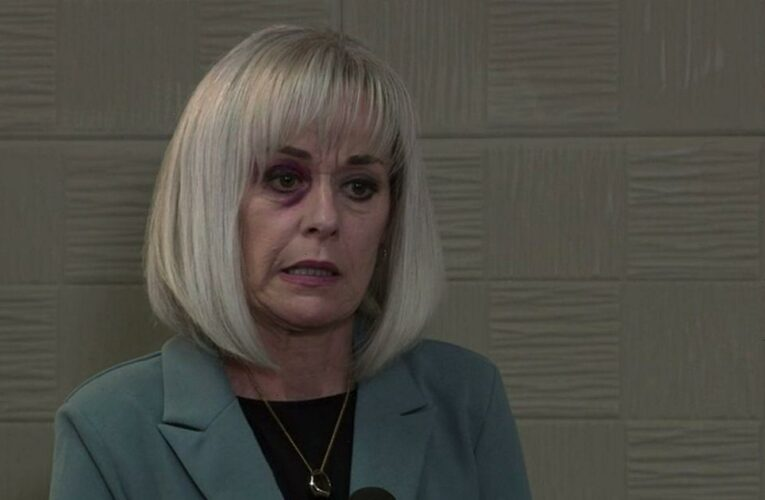 Corrie fans fear for Rita as Sharon's plot exposed after Harvey court betrayal