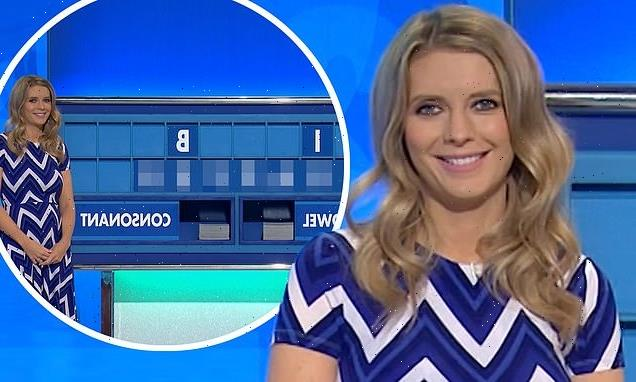 Countdown's Rachel Riley left red-faced over rude word on board