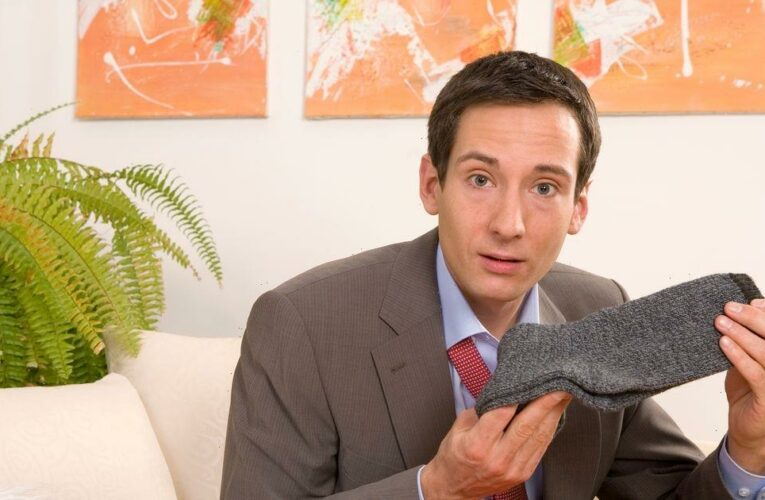 Dads estimate they'll be gifted at least 35 pairs of socks in their lifetime