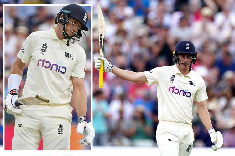 Dan Lawrence rescues England after middle-order collapse as Root and Co. bid to forget social media woes in Second Test