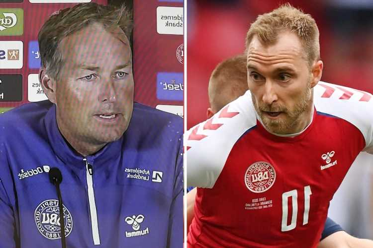 Denmark boss Kasper Hjulmand slams Uefa for giving players 'tough' choice and decision to resume Finland game was wrong