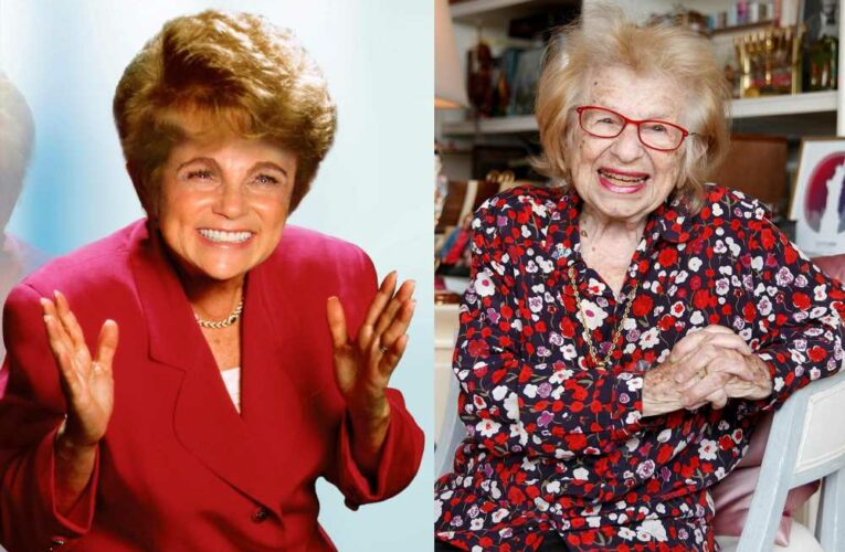 Dr. Ruth: 'Yes, 90-year-olds should still have sex!'