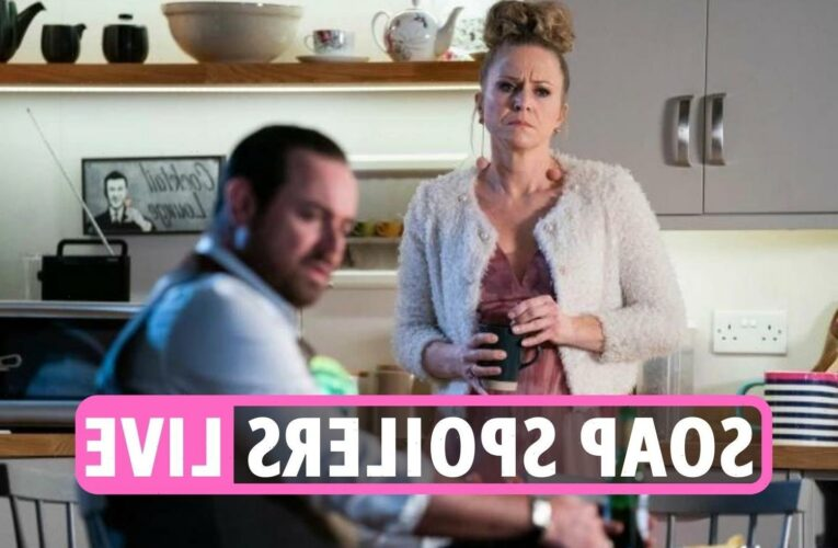 EastEnders spoilers LIVE – Linda & Mick to LIE to Max Branning over baby plus Coronation Street & Emmerdale latest news