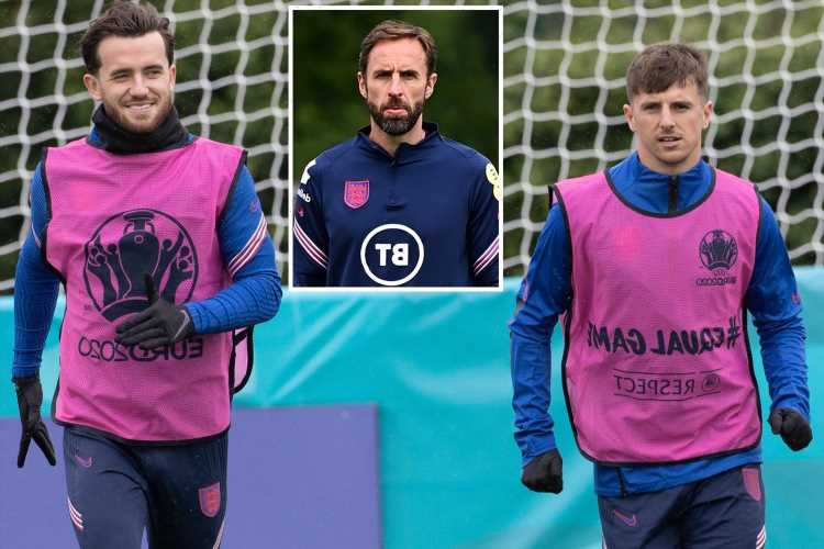 England duo Mount and Chilwell OUT of Czech game and could miss last 16 after Billy Gilmour's positive Covid test