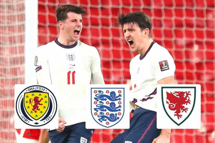 Euro 2020 fixtures: England, Scotland, Wales – kick-off times, TV channel, live stream FREE and full schedule