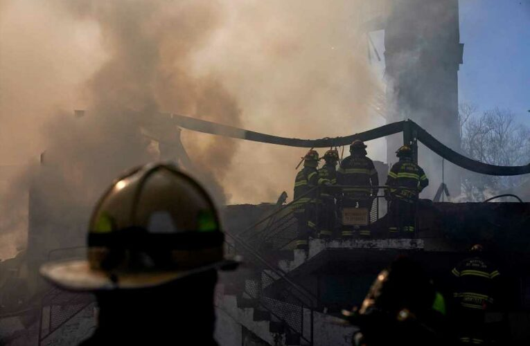 Father-son charged with manslaughter, arson in deadly New York fire