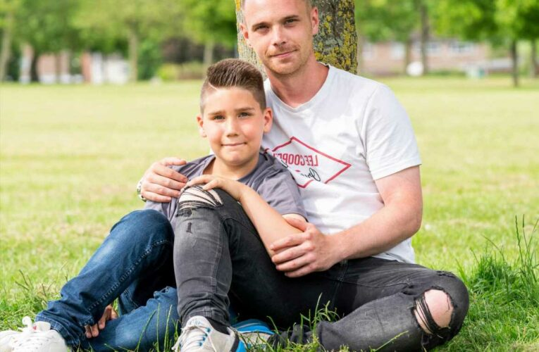 Father's Day: I'm a single dad to my little bro, telling him dad was gone too after mum died was worst moment of my life